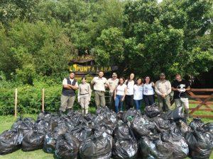 Exitosa jornada de limpieza en Punta Lara